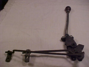 1965 1966 1967 Chevelle Borg Warner T16 Original 3 Speed M13 Shifter Assembly