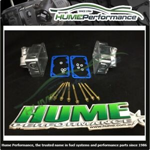 Genuine Holley Bowl Kit Double Pumper 600 650 750 Sight Glass Polished