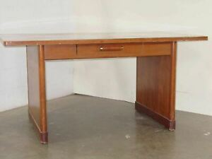 Executive 3460 Classic Stylish Wooden Office Desk With Drawer