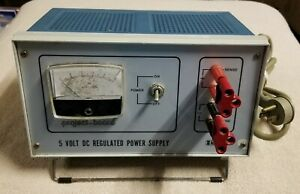 Rs 5 Volt Dc Regulated Power Supply Project Board Made In Italy Not Tested