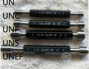 Unc unf unef un uns 7 16 To 1 2 Plug Thread Gage Gauge Select Size q4887 Zx