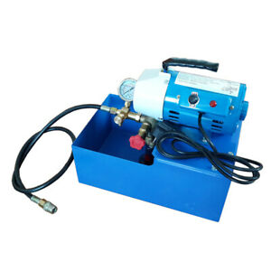 New 2 5mpa Electric Pressure Test Pump Hydraulic Piston Testing Pump 110v Usa