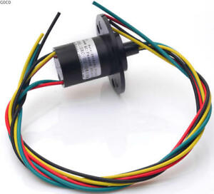 1pc 6 Wires 30a Large Current Slip Ring For Wind Power Generator f4098 Cy
