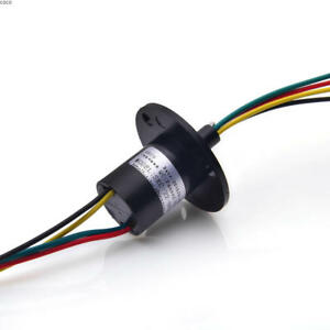 1pcs 4 Wires 30a Large Current Slip Ring For Wind Power Generator f4096 Cy