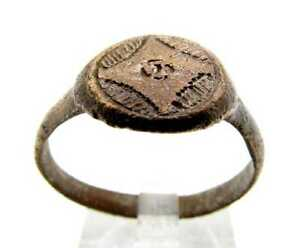 Roman Ring With Design Size 10 25