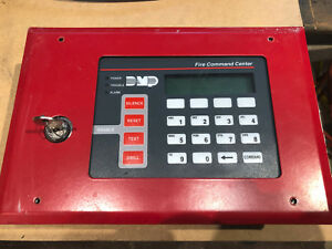 Dmp 630f Lcd Remote Fire Command Center used Taken From A Working System