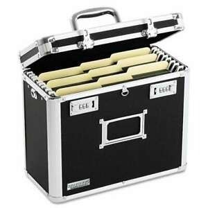 Vaultz Locking File Tote Storage Box Letter 13 3 4 X 7 1 4 X 1 826030011874