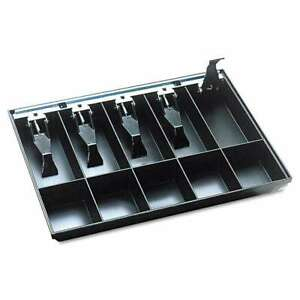 Steelmaster Cash Drawer Replacement Tray Black 078541256248