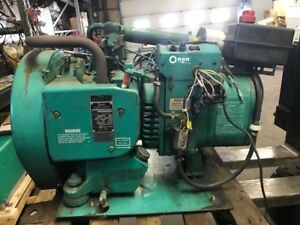 Onan 4bf 3cr 16000b Generator Fully Functional Starts Right Up