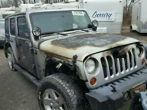 2009 Jeep Wrangler Front Axle Assembly Dana 30 Lhd 3 73 Ratio 09 10
