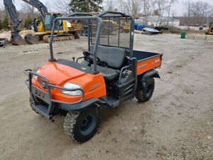 2011 Kubota Rtv900 Atv Side By Side 4 X 4