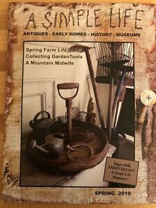 A Simple Life Magazine New Spring 2019 Jill Peterson Antiques Primitive