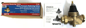 Watts Water Pressure Reducing Valve 1 Lfn45bm1 u New In Box Look