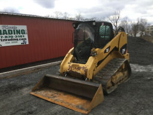 2013 Caterpillar 279c2 Compact Track Skid Steer Loader W Cab 2spd