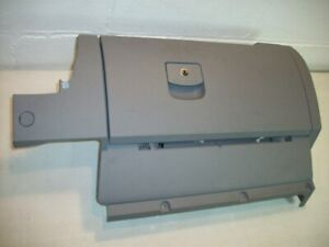 2001 Vw Beetle Bug Glove Storage Box Compartment Assembly Complete Grey Used