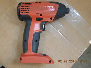 Hilti Sid 121 a Cordless 1 4 Impact Screw Gun Bare Tool Only Used 77