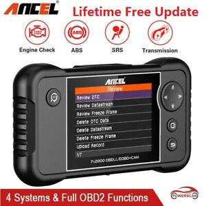 Obd2 Engine Transmission Abs Srs Diagnostic Tool Auto Scanner Fx2000 As Crp123