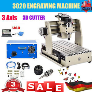 Usb 3 Axis Cnc 3020t Router Engraver Engraving drilling milling Machine Cutter