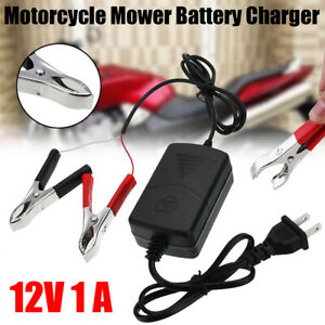 12v Trickle Battery Charger Maintainer Tender For Car Truck Motorcycle Mower Us