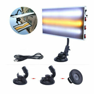New Tools Led Lights Paintless Dent Repair Hail Removal 3 Strips Auto Body Lamps