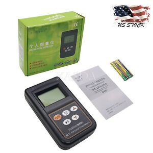 Nuclear Radiation Detector Dosimeter English Japanese Menu Fs9000 Battery Type