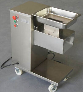 New Commerical Use Removable Meat Cutting Slicing Machine 500kg hour 220v