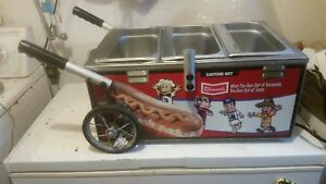 Hot Dog Cart Mini Steamer Cooker Machine Nemco Klemet s Sausage Race Brewers