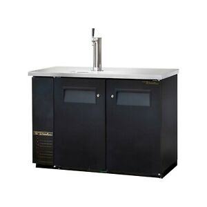 True Tdb 24 48 49 Beer Cooler With 1 Tap And A 1 Keg Capacity