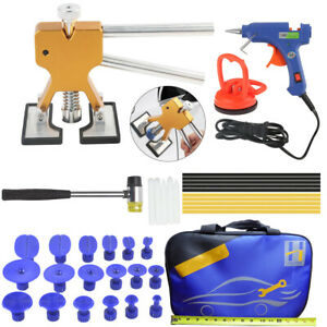 Slide Hammer Puller Lifter Kit Paintless Dent Repair Hail Removal Tools A423