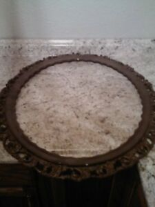 Vintage Wooden Large Picture Frame Lot A