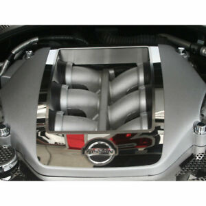 Engine Shroud Cover 4p For 2010 2013 Nissan Gt R Stainless Steel Polished