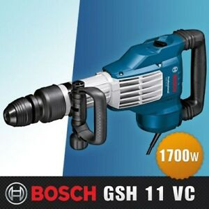 bosch Demolition Hammer With Sds max Professional gsh11vc 1 700w