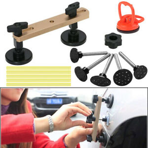 Car Body Paintless Dent Repair Tools Bridge Puller Damage Removal Glue A433