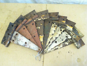 One 12 Vintage Antique T Strap Barn Door Hinge Rustic Farmhouse 9 Available