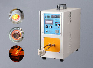 15kw High Frequency Induction Heater Furnace 30 80 Khz 220v