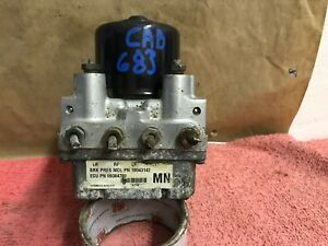 2001 02 Pontiac Grand Am Abs Anti Lock Brake Pump Module Oem 18042267