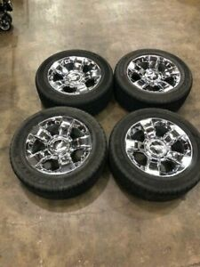 2007 2019 Chevy Silverado 20 Chrome Factory Wheels Goodyear Tires