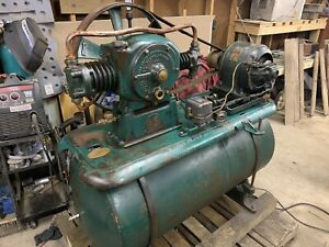 1920 s Usaco Vintage United States Air Compressor Co Cleveland Ohio
