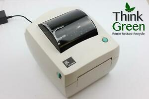 New Zebra Lp2844 Direct Thermal Barcode Shipping Label Printer Usb