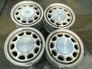 Ford Mustang Gt lx Fox Body 15 Wheel Rims Set Of 4 Oem 1