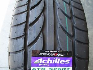 2 New 245 40zr19 Achilles Atr Sport Tires 245 40 19 2454019 R19