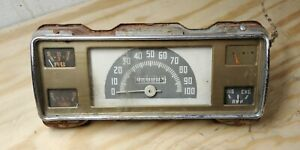 1941 1946 1947 Ford Truck 100 Mph Instrument Cluster Speedometer Gauges Dash
