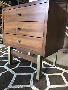 Midcentury Modern American Of Martinsville Side Table End Table Night Stand