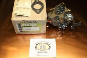 Nos Carter Carburetor Bbs 4956s 1970 1971 Chrysler 6 Cylinder