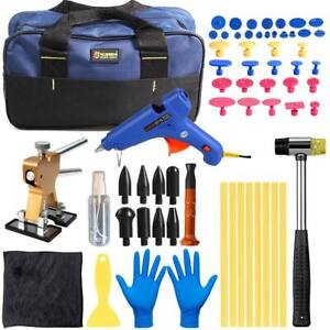 63x Paintless Dent Repair Removal Tools Set Dent Lifter Puller Tabs Glue Sticks
