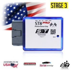 For Volvo Stage 3 Performance Chip Ecu Tuner Fuel Race Engine Speed Plug Play