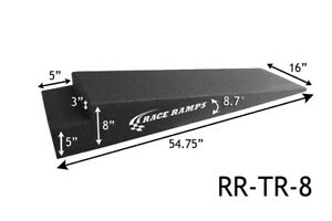 Race Ramps 8 Lift Car Loading Low Clearance Trailer Ramps 54 Long Rr Tr 8