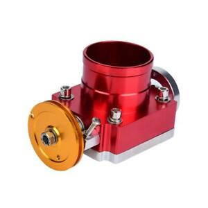 65mm Cnc Aluminum Universal High Flow Intake Manifold Throttle Body Red