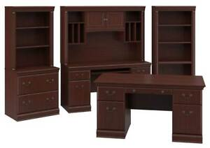 Executive Desk In Harvest Cherry Finish id 3785948
