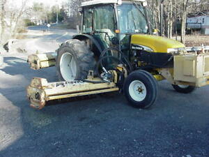 2003 New Holland Tn65d Alamo Side And Rear Flail Mowers